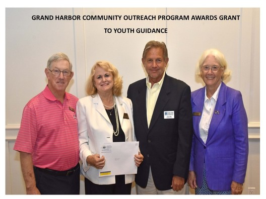 GRAND HARBOR COMMUNITY OUTREACH PROGRAM AWARDS GRANT TO YOUTH GUIDANCE